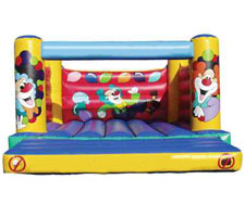 Adult Clown Theme Bouncy Castle