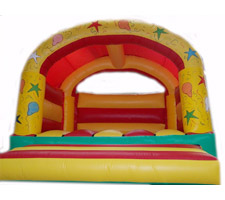 Adults Bouncy Castle - Red & Yellow