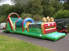 Farmyard Run Bouncy Castle