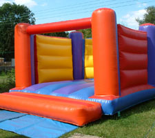 Red, Yellow & Blue Bouncy Castle