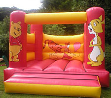 Winnie the Pooh Bouncy Castle